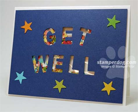 make get well cards get well soon card stin up demonstrator m
