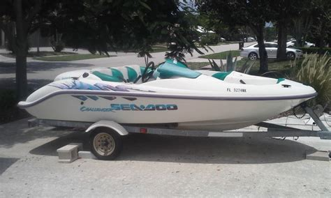 1996 seadoo bombardier boat sea doo challenger 1996 for sale for 1 275 boats from