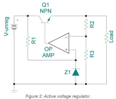 zener diode negative voltage regulator op voltage follower regulator 爱程序网