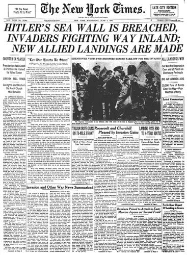 D-Day! | D-Day Hitler's Sea Wall Is Breached, Invaders