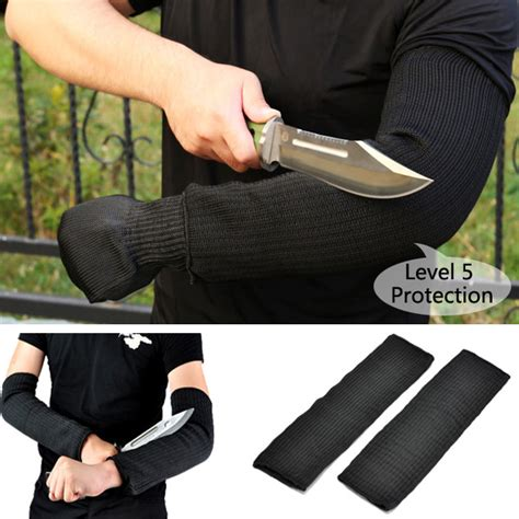 Gardening Arm Protectors 1 Pair Steel Wire Safety Anti Cutting Arm Sleeves