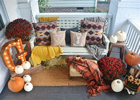 country fall decorating ideas 37 fall porch decorating ideas ways to decorate your