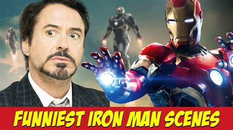 funniest iron man scenes iron man funny moments