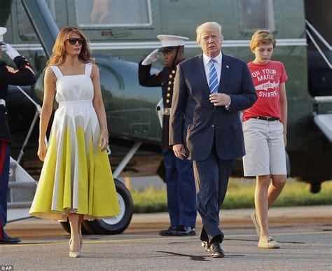 trump s temporary working vacation while white house is renovated u s politics trump again slams media amid charlottesville fiasco