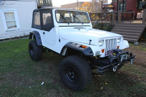 1995 Jeep Grand Lift Kit 1995 Jeep Wrangler Yj With Lift Kit Plow And Class 3 Hitch