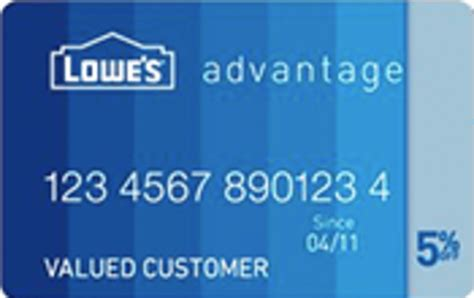 lowes advantage credit card review   worth applying