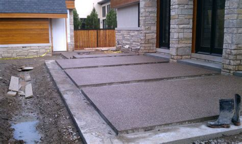 Aggregate Cement Patios by Innovative Aggregate Concrete Patio Outdoor Decor