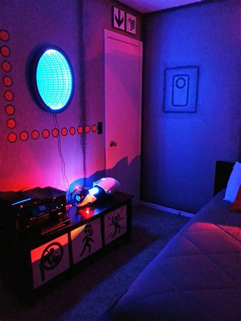 portal room creates the ultimate portal room complete with portal gun techeblog