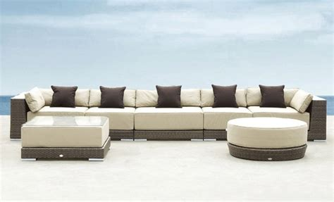 modern patio sofa werth executive patio sectional sofa modern patio