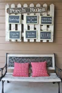 Diy Porch Decor 43 Diy Patio And Porch Decor Ideas Diy Porch Bench