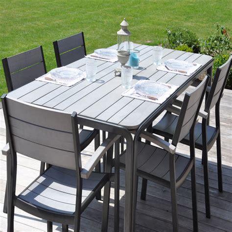 Table De Jardin En Teck Pas Cher