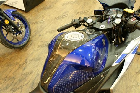 Yamaha R25 Cover Mantel Motor High Quality yamaha yzf r3 yzf r25 carbon fiber central cover for the