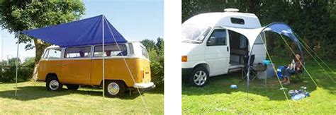 side awnings for vans cervan and motorhome awnings