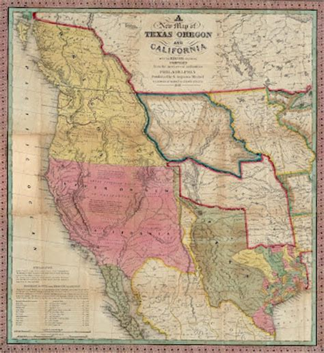map of oregon 1840 antique prints shaping the trans mississippi west