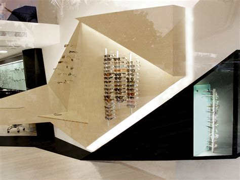Origami Stores - optical store 187 retail design