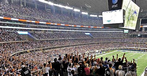 Standing Room Only Tickets by Dallas Cowboys Stadium Si