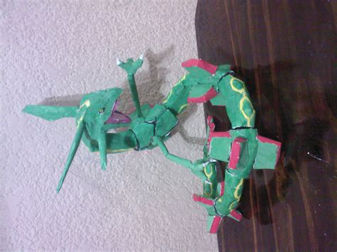 Rayquaza Papercraft - rayquaza by javierini on deviantart
