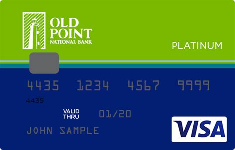 Old National Bank Gift Card - old point national bank personal credit cards