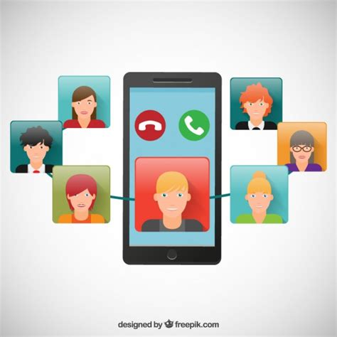 free call to mobile mobile phone call vector free
