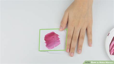 how to make the color maroon how to make maroon 8 steps with pictures wikihow