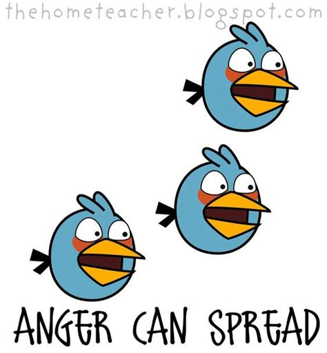 dont be an angry bird lessons on anger management for don t be an angry bird slingshot pigs blue birds big