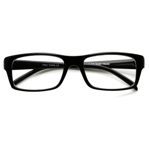 new square optical frame clear lens fashion glasses zerouv