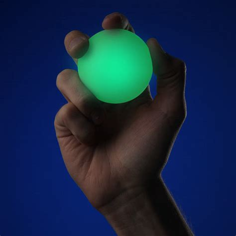Glowing Nightlight L With Removable by Glo Nightlight With Glowing Balls Thinkgeek