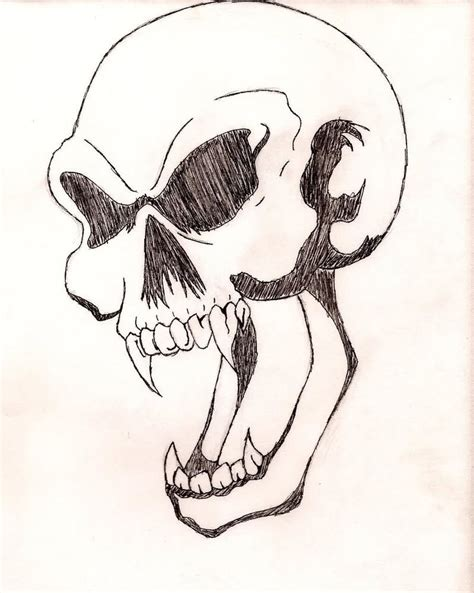 simple skull tattoo designs easy skull designs for beginners amazing