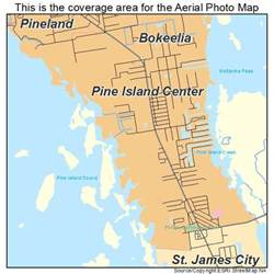 aerial photography map of pine island center fl florida