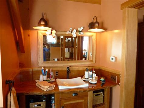 rustic lighting for bathrooms rustic lighting solutions for timber frame homes blog