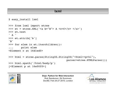 python xml tutorial etree python web tutorial