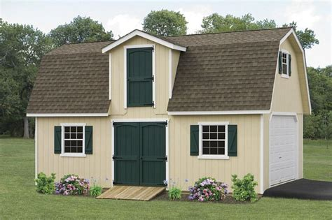 15 x26 2 story classic garden barn glick structures