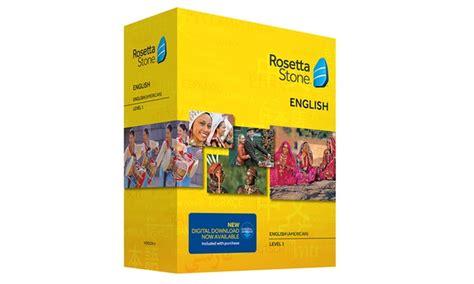 rosetta stone groupon rosetta stone language courses rosetta stone language