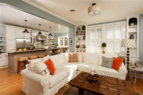 Living Room With Kitchen ideas to keep kitchen and living room together