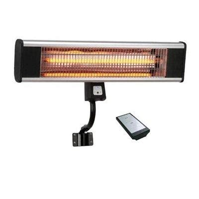 wall mounted patio heaters la hacienda wmc18000r 1 8kw wall mounted outdoor carbon fibre patio heater storage heaters