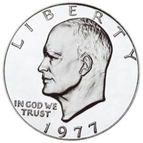 composition of dollar coin eisenhower dollars clad composition 1971 1978