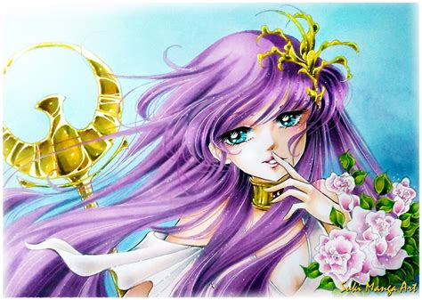Sa Ori copic marker europe saori kido as athena from