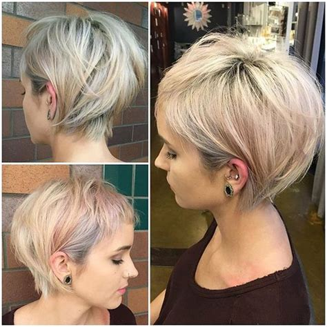 women hair cuts short growing bangs out a fodr 225 szok szerint ez id 233 n a 35 legdivatosabb r 246 vid haj