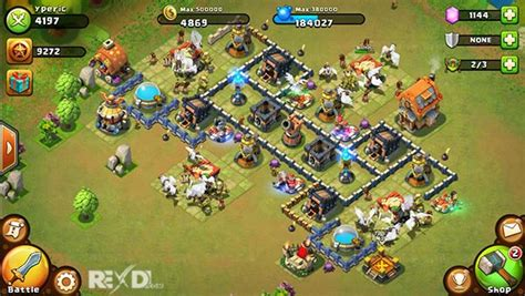download game castle clash mod apk offline castle clash brave squads 1 4 21 apk data game for android