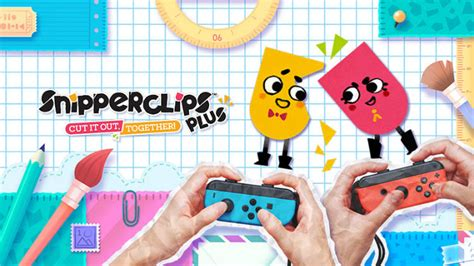 Nintendo Switch Switch Snipperclips Plus Cut It Out Together Us snipperclips plus review for nintendo switch best buy