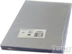 clear pvc a3 presentation binding covers 240 micron pack