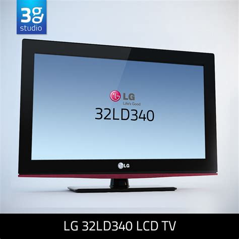 format file video untuk tv lcd 3d model of lg 32ld340 lcd tv