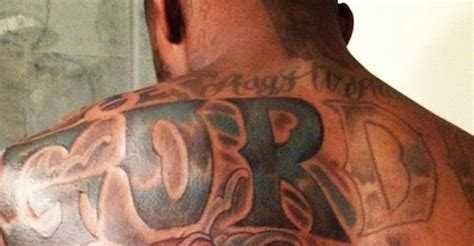 josh gordon back tattoo cleveland browns wr josh gordon goes quot big quot on his new back