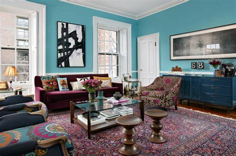 livingroom boston boston townhouse renovation eclectic living room
