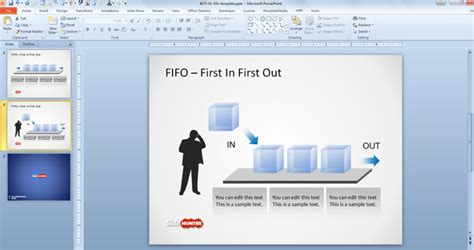 free fifo powerpoint template free powerpoint templates