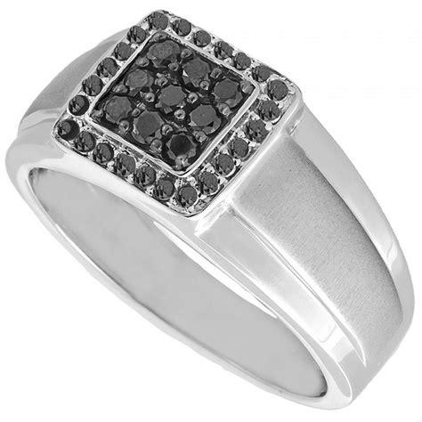 black mens ring black ring mens wedding