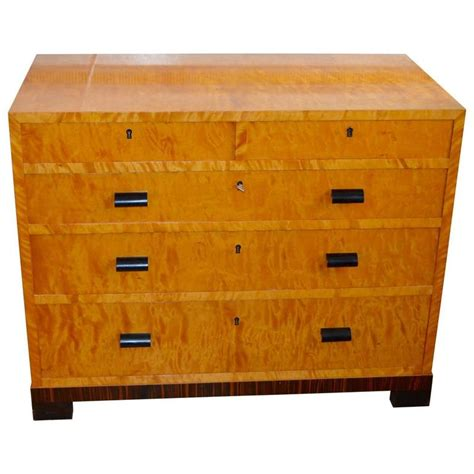 Deco Dresser by 1930s Deco Satinwood Dresser For Sale At 1stdibs
