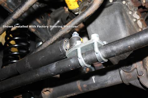 Jeep Jk Tie Rod Hd Front Steering Stabilizer Tie Rod Mount Jeep Jk Wrangler