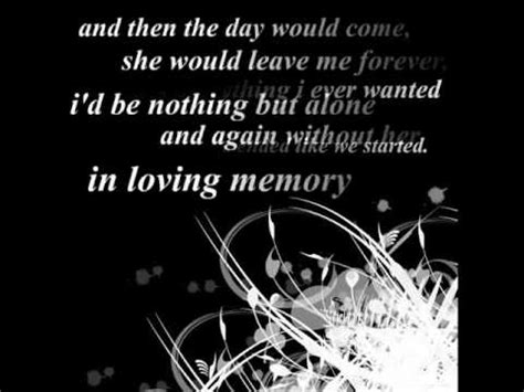 bullet for my lyrics in loving memory iloveemilysarmy