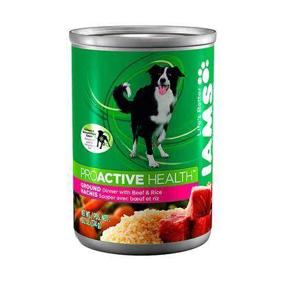 iams canned food iams proactive health canned food 12 13 2 oz cans food petcarerx